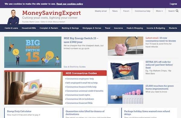 Money Saving Expert - Inspiring ideas