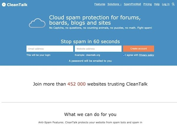 Cleantalk Anti Spam - How to succed at Blogging