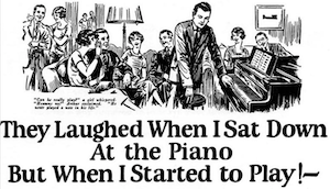 They laughed when I sat down at the piano - But when I started to Play