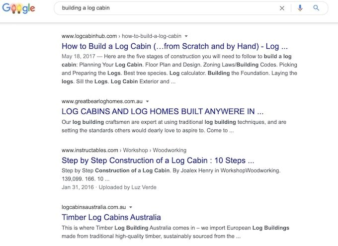 Google search - Why blogs are good for SEO
