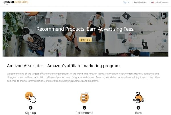 Amazon Associates - How a blog can generate Income