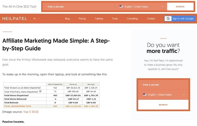 Affiliate Marketing Made Simple - Evergreen Content Examples