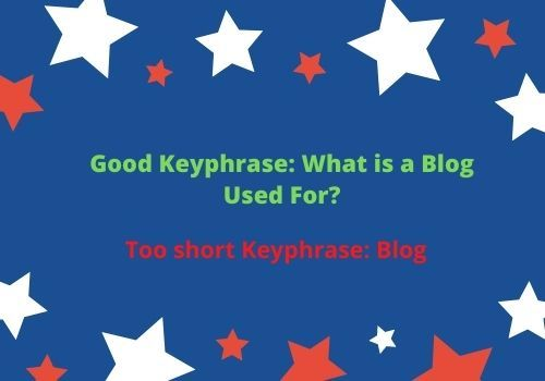 Comparison of types of Keyword