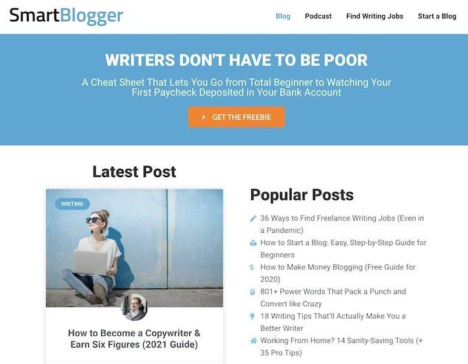 Blog examples - Smartblogger