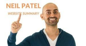 Neil Patel Website Summary - 5 Key Resources