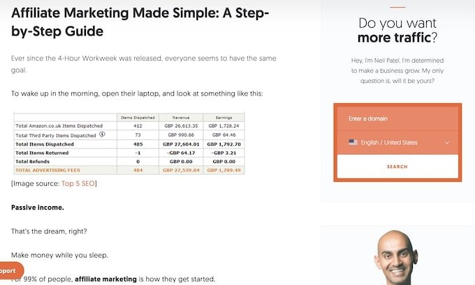 Affiliate Marketing made Simple - A Step by Step Guide - review