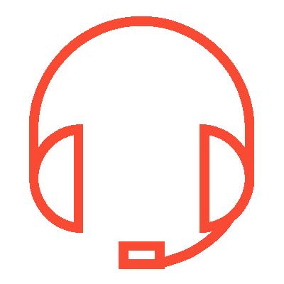 phone headset symbol