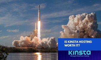 rocket ship blasting off - is kinsta worth it?