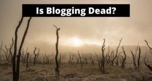 wasteland scene - Is Blogging Dead?